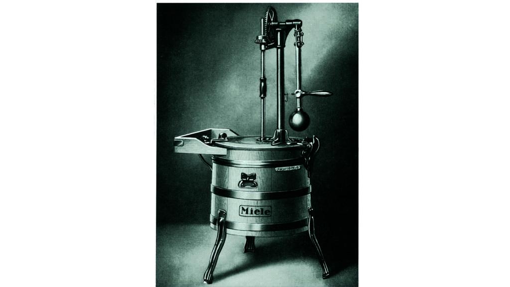 Modell A blev startskottet för mängder av tvättmaskinsmodeller från Miele.